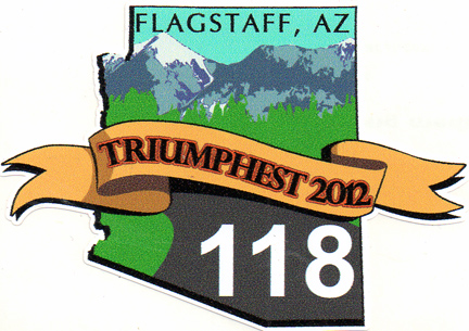 Triumphest 2012 decal
