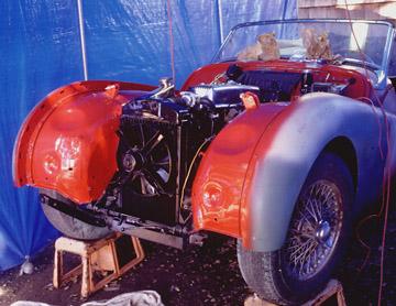 Terianns Triumph Tr3a Rebuild