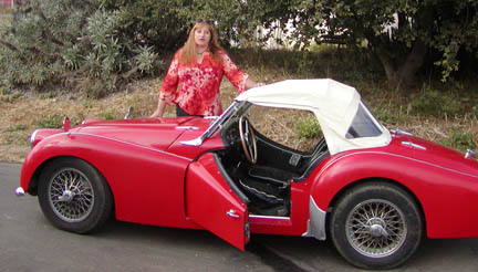Triumph TR3A and me